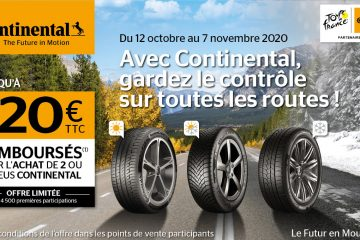 Jusqu'au 7 Novembre, <br />profitez de notre offre Continental !