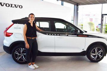 Marie BOCHET, nouvelle ambassadrice Volvo pour le groupe Discover !
