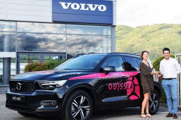 L'aventure continue entre Volvo et Odyssea Chambéry.