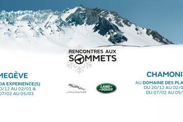 Participez aux Rencontres aux Sommets Jaguar Land Rover !