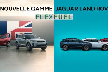 Nouvelle Gamme Hybride Flexfuel Jaguar Land Rover.
